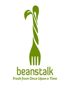 #creative #logo - Would make a good forum name: Beans Talk; Beanstalk. Very cute play on words.