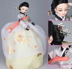 Korean Doll Wearing -Hanbok