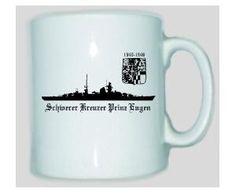 Tasse Schwerer Kreuzer Prinz Eugen / mehr Infos auf: www.Guntia-Militaria-Shop.de