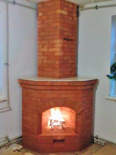 Wood Stove Hearth, Tuscany Kitchen, Outdoor Kitchen Plans, Rocket Stoves, House Plans, Brick, House Design, Interior Design, Architecture