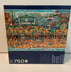 Coney Island 750 piece puzzle Bill Bell need factory sealed.  #Coneyisland