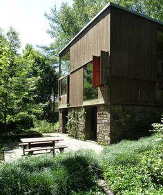 Fisher House, Pennsylvania by Louis I. Kahn ,1967