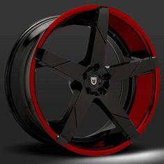 Lexani Invictus-Z Red Black