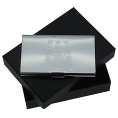 Personalised Man City FC Business Card Holder - £19.99