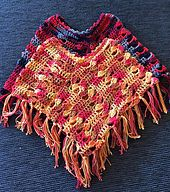 Ravelry: Barnponcho/Children's Poncho pattern by Creative Cia