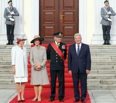 King Carl Gustaf and Queen Silvia visit to Germany