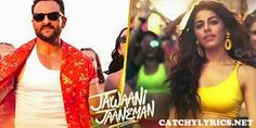 GALLAN KARDI LYRICS (Jihne Mera Dil Luteya) - Jawaani Jaaneman   Saif Ali Khan - Catchy Lyrics Movie Storage, New Lyrics, Party Songs, Saif Ali Khan, Al Pacino, Move Your Body, Shrink Wrap, News Songs, Things That Bounce