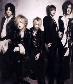 Kat says: the GazettE, one of my favorite Visual Kei bands.