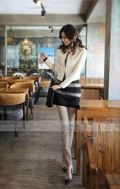 Korean Fashion Slim Short Woolen Coat on BuyTrends.com, only price $24.90