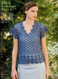 Crochetpedia: Crochet Patterns Shirt Blusa 2