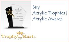 #AcrylicTrophy #Acrylic trophies. Acrylic awards. Trophykart is the leading manufacturer of Acrylic Awards, best corporate gifts in the India.