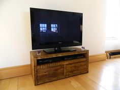 Qube TV Stand with Drawer
