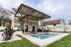 Enfoque Material: Hacienda Niop de AS Arquitectura y R79,© David Cervera