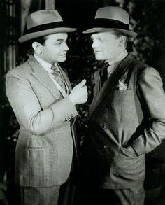 Edward G Robinson, James Cagney