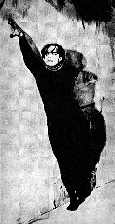 Conrad Veidt in The Cabinet of Dr. Caligari, 1920