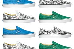 VANS GLITCH PACK  Written by: Sneaker Freaker July 20, 2010Brand: Vans Style: Skate, Theme If it's good enough for an entire music genre, it's good enough for a sneaker! The new 'glitch' pack takes the pixelated computer glitch image and busts it bold on a selection of Vans' favourite silhouettes including the Slip On and Authentic. If this is any indication, we have a feeling colour is about to make a massive comeback in the latter part of 2010. Out now at all good Vans stores. Courtesy of…