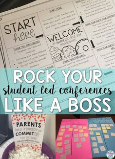 "I was intrigued by the fact that this is about ""student"" lead conferences. I think it could be a great strategy when embarking on parent teacher conferences in just a few weeks. Réunions Parents Professeurs, Parents As Teachers, 4th Grade Classroom, Future Classroom, Parent Teacher Communication, Parent Teacher Interviews, Student Led Conferences, Iep Meetings, Education Conferences"