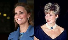 Pregnant Kate Middleton shows off Princess Diana's sapphire earrings