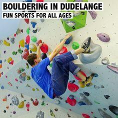 Bouldern und Klettern in Luxemburg. In Dudelange wurde die Halle jetzt vergrößert und bietet mit über 100 Pisten auf rund 600m2 noch mehr Fun für die ganze Familie. Mehr Infos und eine erste Review gibt es auf http://www.rosportlife.com