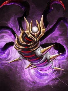 Shadow force by Tapwing.deviantart.com on @DeviantArt (Giratina)