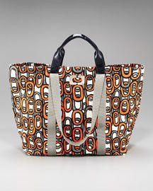 Kenya Loop-Print Tote by Diane von Furstenberg - another great bag!