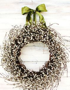 VICTORIAN COUNTRY COTTAGE Christmas Wreath from WildRidgeDesign