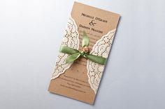handmade rustic wedding invitations E3rN3i6G5