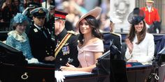 How Meghan Markle's First Trooping the Colour Appearance Compares to Kate's and Diana's- TownandCountrymag.com