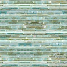 Random Stalks Jewel Glass Mosaic | New Ravenna Mosaics