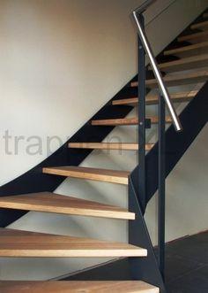 Kwartslagtrappen - KT19-A >> Vraag een offerte aan voor deze trap!