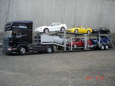 SCANIA R580 w/CAR TRANSPORTER