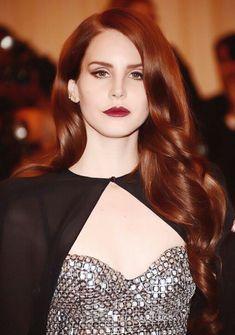 Lana del ray auburn hair