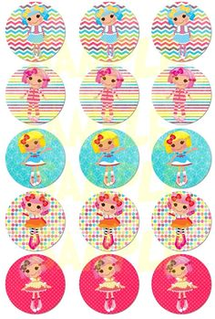 Shop for purse on Etsy, the place to express your creativity through the buying and selling of handmade and vintage goods. Printable Labels, Printables, Lalaloopsy Party, Kids Board, Birthdays, My Etsy Shop, Girly, Cupcakes, Party Ideas