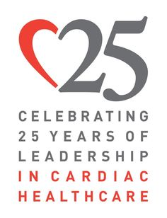 2013 Silver ADDY® Award Winner – Elements of Advertising, Logo JFK Medical Center, 25th Anniversary Cardiac Healthcare Logo