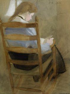 pintura de Helene Schjerfbeck