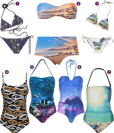 Baño 2013: Haz de tu bañador un lienzo #swimwear