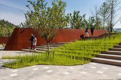 Nanjing Niushoushan Cultural Park by HASSELL « Landscape Architecture Works   Landezine
