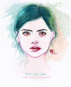 [DOCTOR WHO] Clara Oswin Oswald (Jenna-Louise Coleman) - Lancashire, Sass. by TheWinterLight