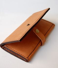 Tan Leather Wallet.