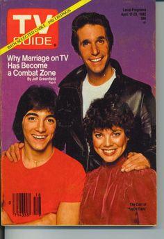 TV GUIDE APRIL 17 1982 SCOTT BAIO-MADGE SINCLAIR HARTFORD NEW HAVEN EDITION