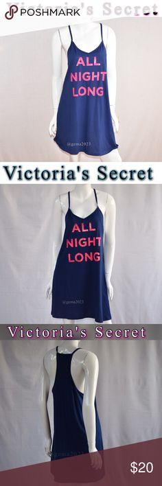 Victoria's Secret Pajamas tee M New New!with tag Victoria's Secret sleep Tee Nw with tag sexy cotton ALL NIGHT LONG Victoria's Secret Intimates & Sleepwear Pajamas