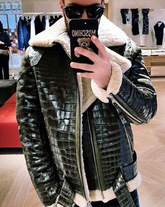 Fur in Men Fashion