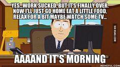 How jobs feel...