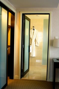 Frosted glass bathroom door & Formby Hall Golf Resort \u0026 Spa - Luxury Bathroom | Doors Modern and ...