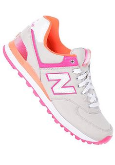 NEW BALANCE Womens WL574 B grey pink Sport Fashion, Men Fashion, Fashion  Beauty 4d235aed0465