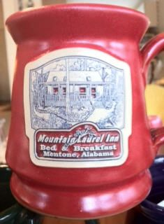 Mugs | Mountain Laurel Inn Bed and Breakfast, Mentone, Alabama.