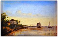 Antônio Rafael Pinto Bandeira (Niterói, 9 de março de 1863 - Rio de Janeiro, 28 de agosto de 1896)   http://sergiozeiger.tumblr.com/post/113467968448/antonio-rafael-pinto-bandeira-niteroi-9-de-marco  Pintor e professor. Descendente de escravos, ingressa em 1879 na Academia Imperial de Belas Artes (Aiba), no Rio de Janeiro, sendo discípulo do pintor João Zeferino da Costa (1840-1915).   Participa regularmente da Exposição Geral de Belas Artes (Egba), sendo contemplado com os prêmios de…