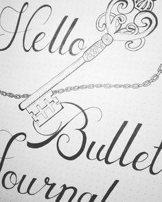 #bulletjournal początek :)