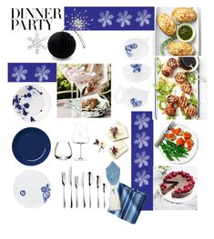 """#PolyPresents: Dinner Party"" by taci42 ❤ liked on Polyvore featuring interior, interiors, interior design, home, home decor, interior decorating, Rosenthal, Royal Doulton, iittala and Robert Welch"