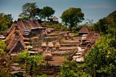 Mbaru Niang - Traditional house of Flores Island , Nusa Tenggara Timur, Indonesia. Adventure Tours, Adventure Travel, Places Around The World, Around The Worlds, Bali Lombok, Unity In Diversity, Vernacular Architecture, Village Houses, Small Island